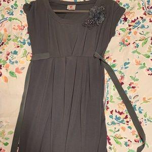 Gray maternity dress size small